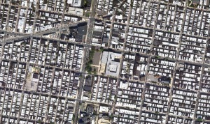 South Philadelphia High School's urban context ||  image by Google Maps